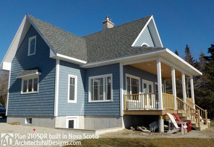 План дома 2105DR построена в Новой Шотландии