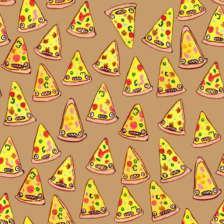 pizza party pattern