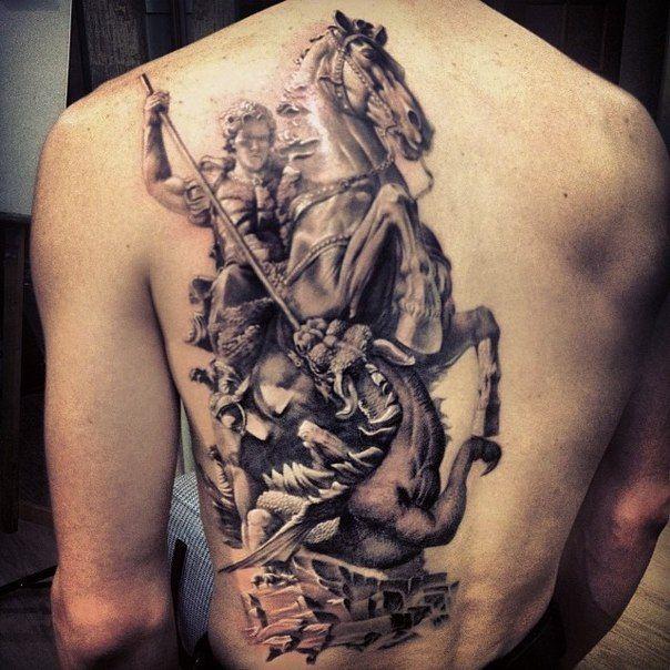 11 best saint george images on pinterest saint george for St george tattoo