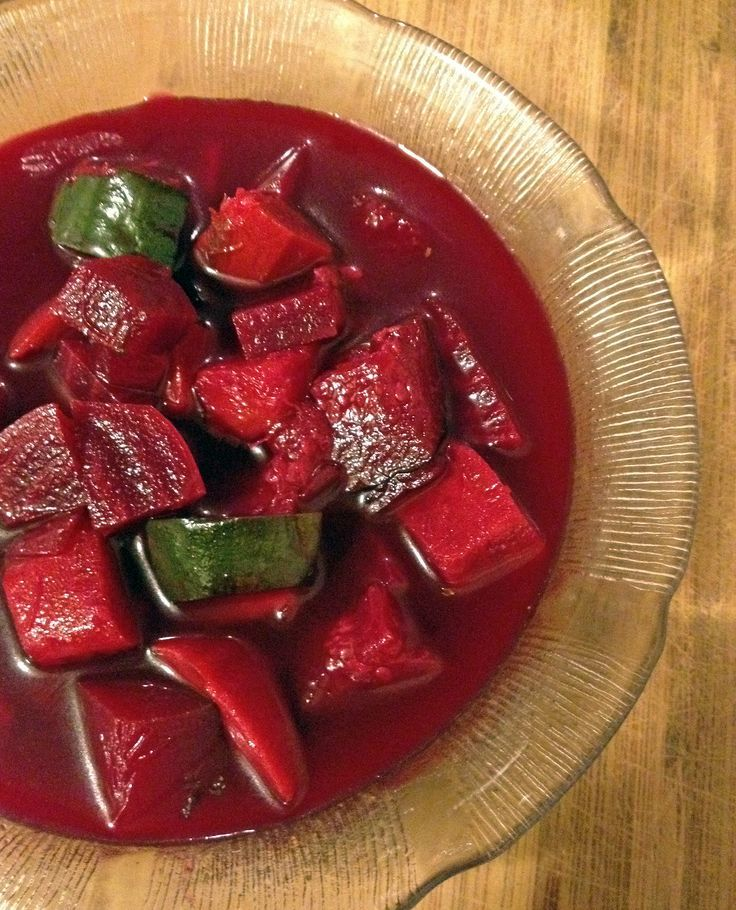 Roasted Beet Vegetable Soup | recipe from Making Life Sweet