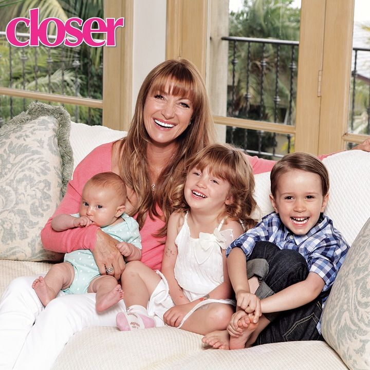 "EXCLUSIVE: Jane Seymour Gushes About Being a Grandmother — ""I Love Being With My Grandkids"""