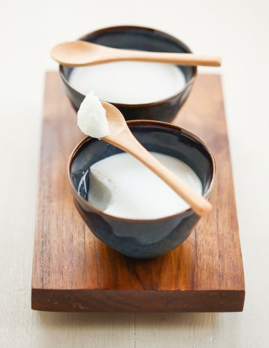 Coconut Milk Pudding. A Cantonese dim sum favorite. Light, creamy, and so simple to make!