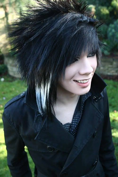 Best Emo Hairstyles For Men Images On Pinterest Emo Hair - Emo boy hairstyle images