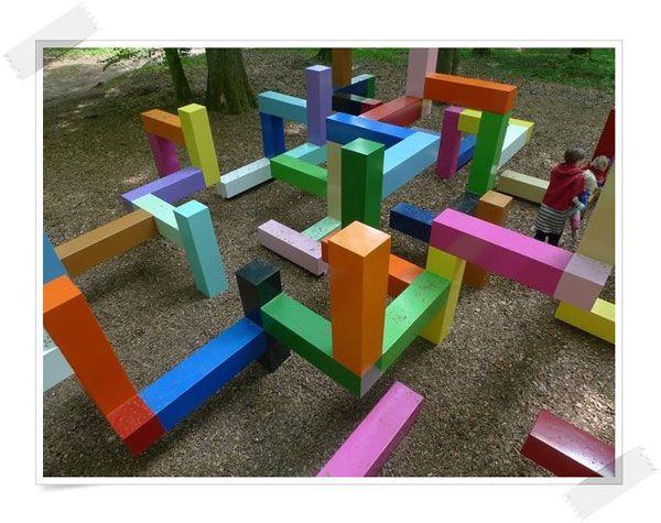 Las 25 mejores ideas sobre parques infantiles en - Como hacer un parque infantil ...