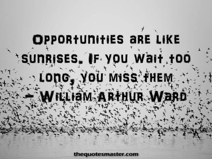Motivational Good Morning Quotes, Special Good Morning Quotes, Quotes about oppurtunity