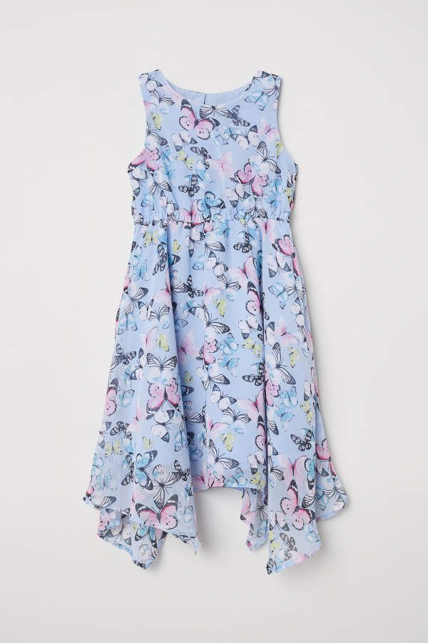 H M H M Dress Kids Sleeveless Chiffon Dress Chiffon Dress Dresses