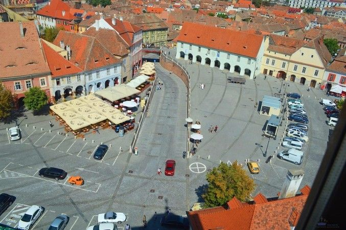 Visit Sibiu Romania top travel destination for 2015. Budget-friendly romanian medieval city