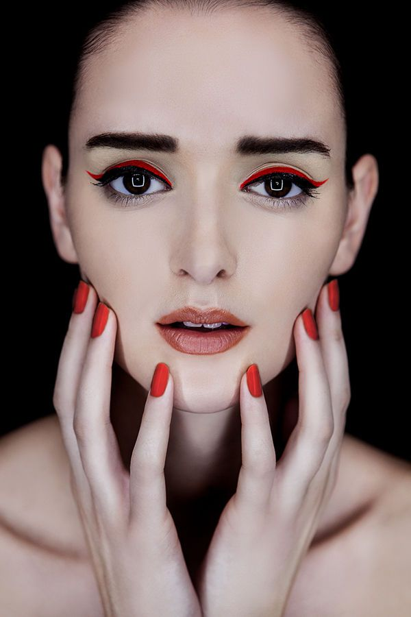 Color-Popping Makeover Images | Bright eye makeup, Bold ...