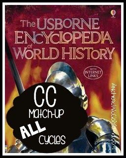 Usborne History Match-Up for ALL CC Cycles at And Here We Go!