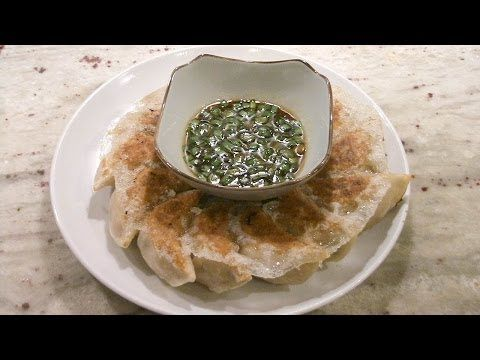 Pork Dumplings (jen jeow - sway jeow), Taiwanese street food 台灣口味豬肉水餃