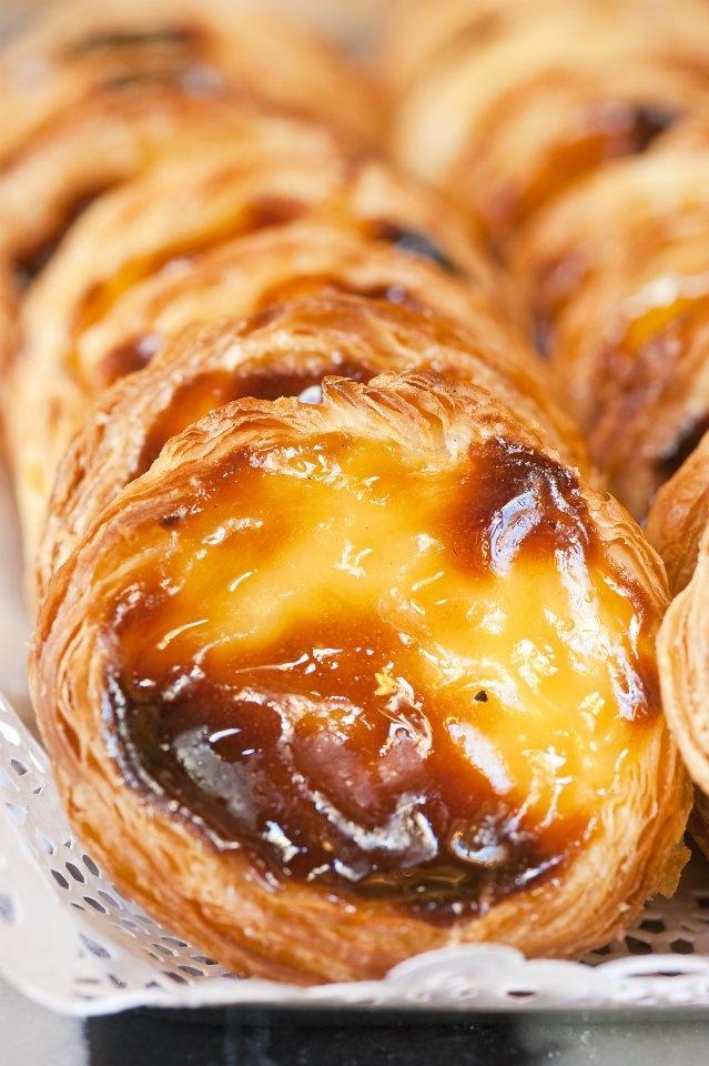 Eat Pastel de Natas from the famous Patisserie in Belem - Lisbon, Portugal