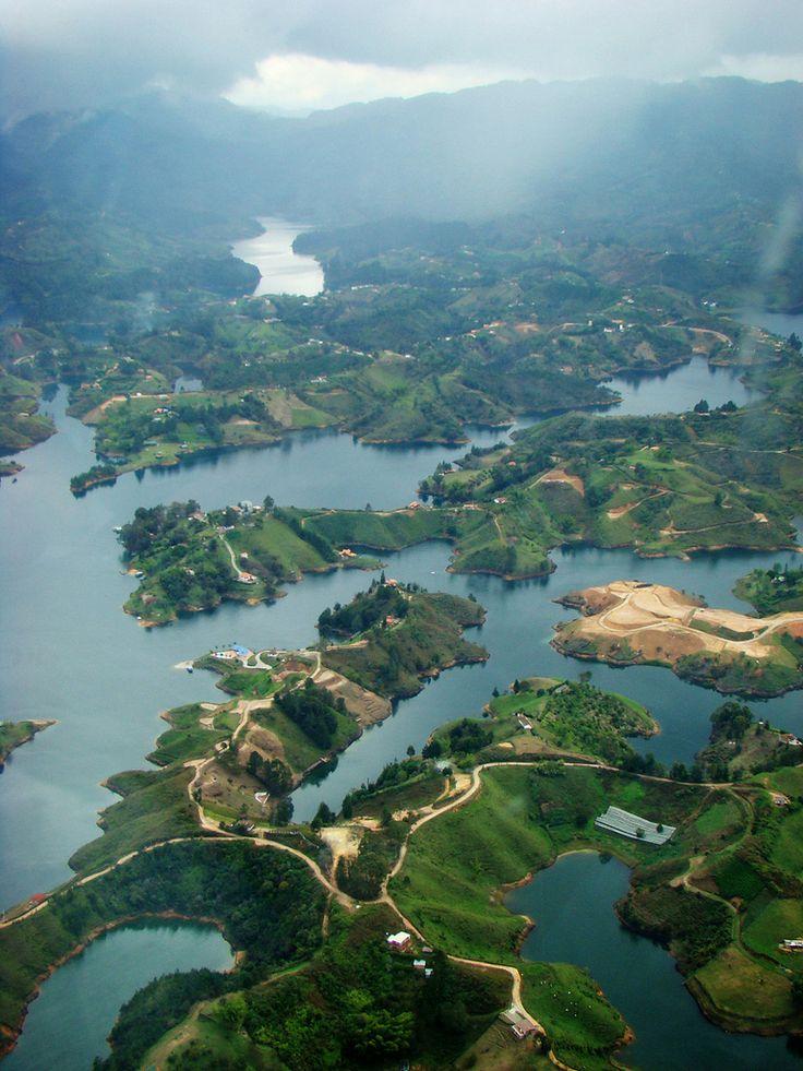"theadventurechild: "" ""Piedra del Peñol - Guatape, Antioquia (Colombia) "" """