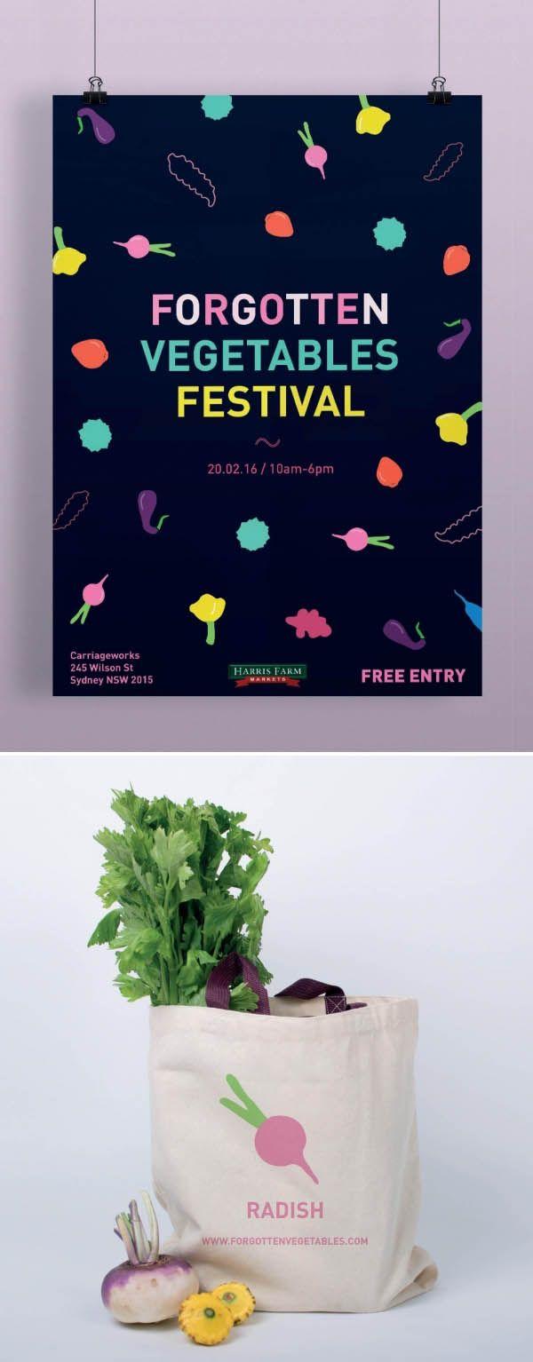 Campaign by Celia Valette, Shillington Graduate. More student work --> http://www.shillingtoncollege.com.au/graphic-design-course/student-work #shillington #shillosyd #shillingtoneducation #campaign #vegetables #poster