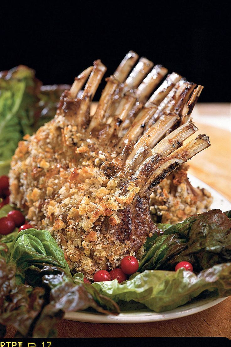 Dijon Rack of Lamb | Browse these traditional Easter recipes for ham, lamb, and chicken to find the perfect main dish for your Easter dinner. Find the perfect main dish recipe for your Easter brunch, Easter lunch, or Easter dinner. Choose a show-stopping centerpiece for your spring feast from our exciting selection of main dish recipes. Impress your guests with a Sweet-Hot Plum- Glazed Ham, Ginger Ale-Can Chicken, or Braised Lamb Shanks. Hosting a casual pot-luck? With an easy overnight
