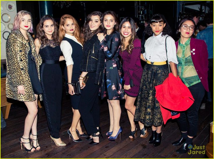 Hailee Steinfeld Lots of stars stepped out to celebrate with the birthday gal including Joey King, her Pitch Perfect 2 director Elizabeth Banks, Jaden Smith with his pal Moises Arias, Austin Mahone, Sarah Hyland, Isabelle Fuhrman, Kaitlyn Dever, Bailee Madison, Debby Ryan, Odeya Rush, Devon Windsor, Darren Criss, Amandla Stenberg, Kodi Smit-McPhee, Hailey Baldwin, Stella Hudgens, Annalise Basso, JustJared.com's Jared Eng, and many more! (Dec.19)