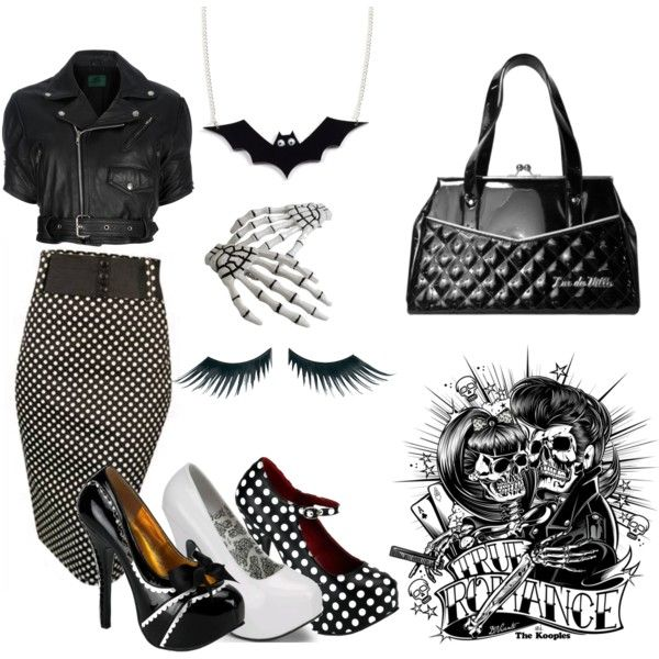 """#23 rockabilly"" by littlezombiitch on Polyvore"