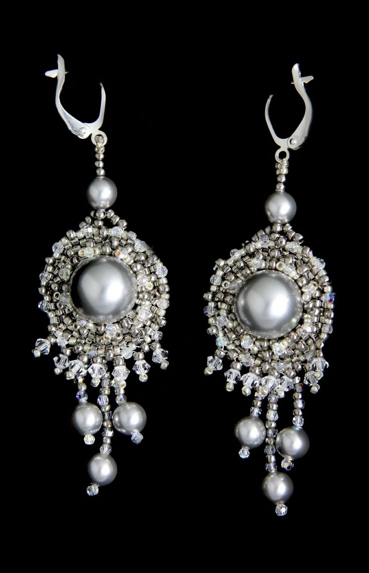Moonlight Seranade Earrings PDF (Instructions Only) $25