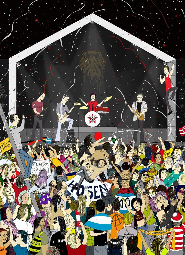 My favorite rock concert ever: Die Toten Hosen.