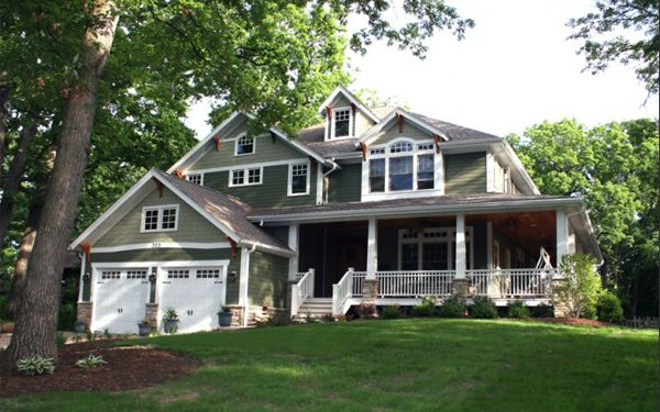 color from the top down home exterior color trends 20122013 greens a