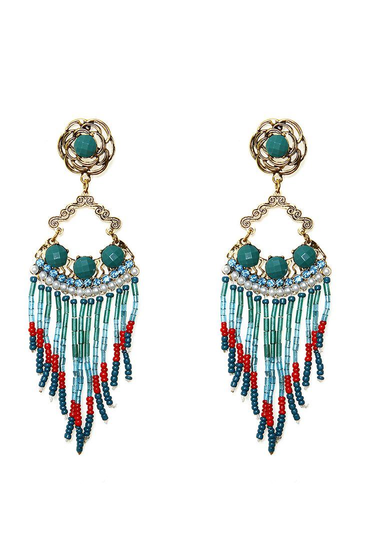 Antique Victorian Chandelier Earrings