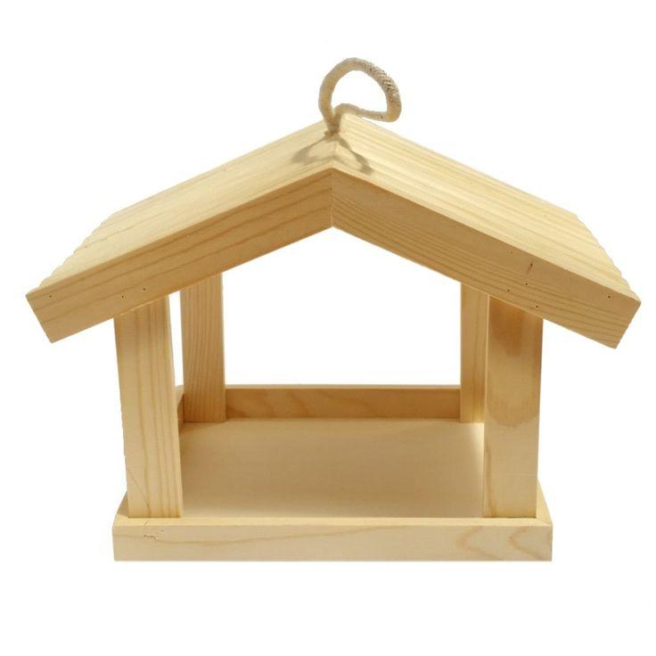 Dekorálható fa madáretető óriás - Dobozok, tartók - KHSHOP.HU - A Kreatív Hobby webáruház