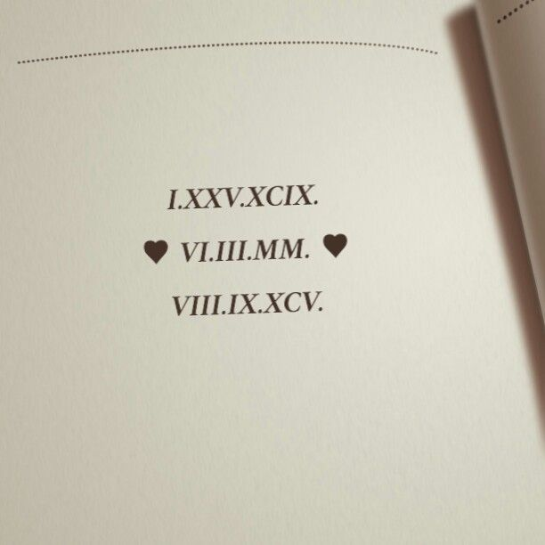 Best 25 Roman Numeral Font Ideas On Pinterest Birthday