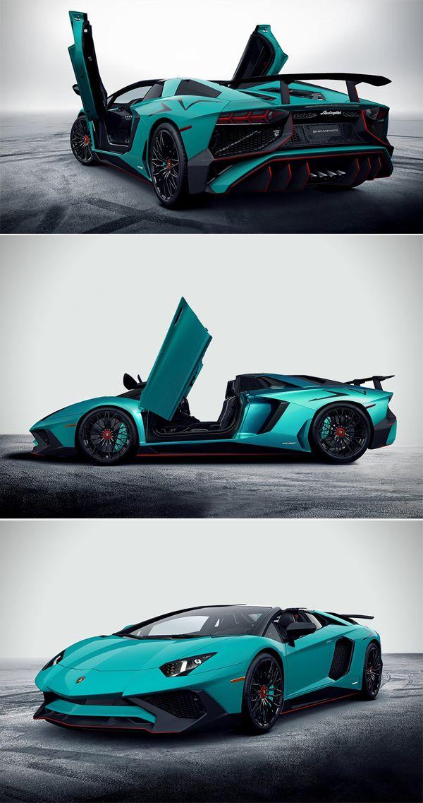 Carzzz... #2017 #Lamborghini #Aventador #LP750-4 #Superveloce #Roadster #Supercars #Carzzz #Car