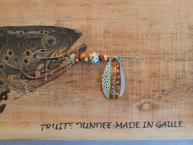 Truite Dundee - made in Gaule: Cuiller « Thesaumon-17 »