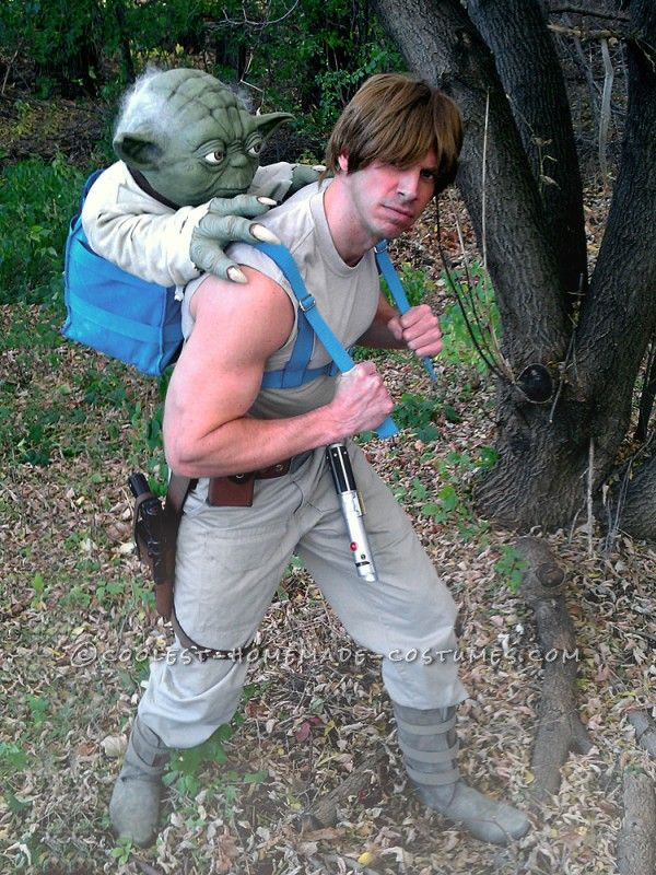 Luke Skywalker Costume: Jedi Training with Master Yoda ...