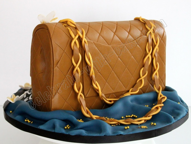 Celebrate with Cake!: Chanel Bag Cake | cakes galore ...