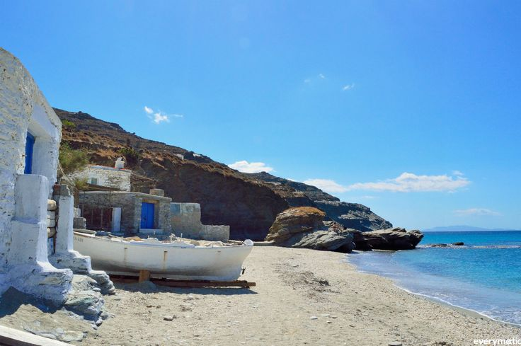 Greece Is.Andros...Plaka Beach.
