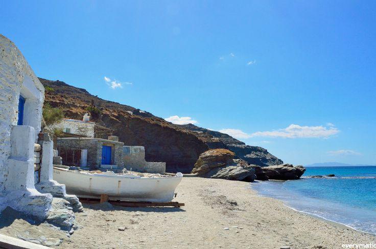 Greece Is.Andros...Plaka Beach.