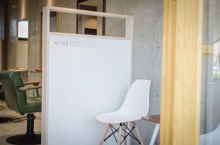 aria HAIR LABO / fukuoka 美容室(サロン)の設計・内装・デザイン