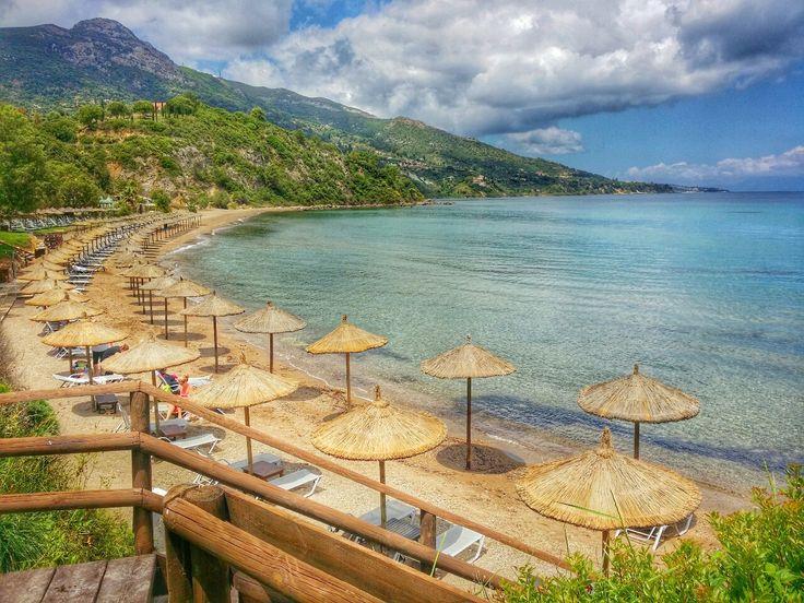 The Beach At Porto Azzoro On Zakynthos island Photography by Alistair Ford
