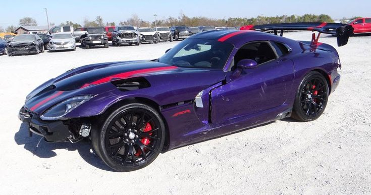 Would You Bring This Wrecked 2016 Dodge Viper GTC 'ACR' Back To Life? #Accidents #Dodge