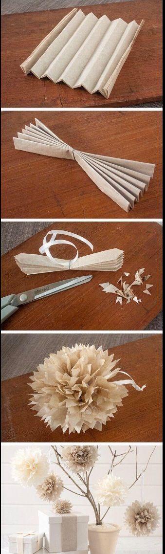 Cute paper flowers