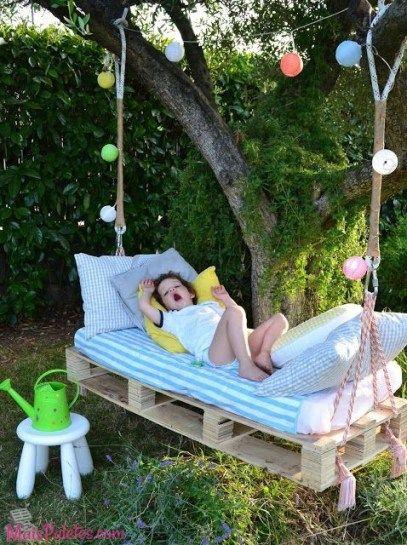 Der etwas andere Schlafplatz für unsere Kleinsten...