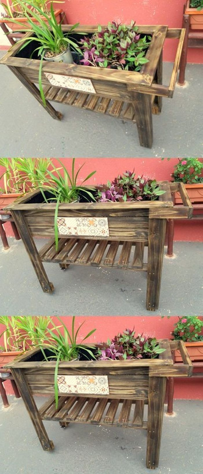 Lovely pallet planter idea projects to try pinterest pallet