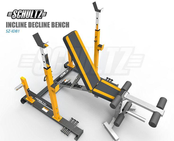 incline decline flat bench press