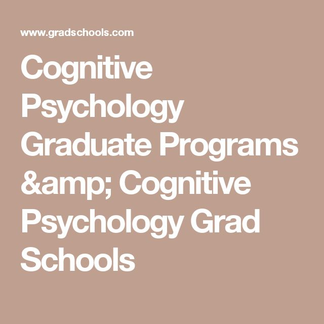 Best  Psychology Graduate Programs Ideas On