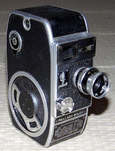 Vintage Paillard-Bolex 8mm Movie Camera | Flickr - Photo Sharing!