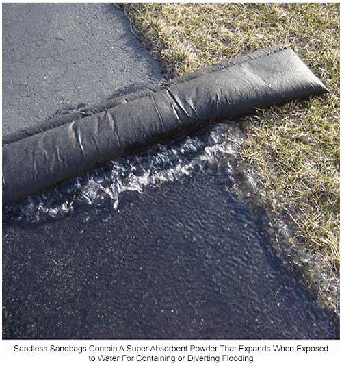 Leak Diverter | Leak Diverter-Barriers & Sandbags | Quick Dam 10' Flood Barrier - 1 Barrier/Pack QD610-1 | B766828 - GlobalIndustrial.com