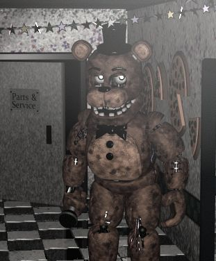 Five Nights at Freddy's 2 O_O