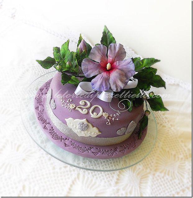 Le Torte di Antonella Cacossa e non solo...: Altea per 20 anni di matrimonio