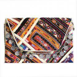 beautiful handmade Boho Clutch (69.95)