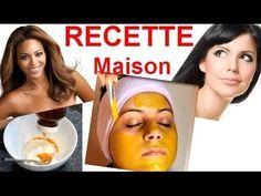 Masque Éclaircissant Visage - Blanchir la Peau - Recette Maison - YouTube