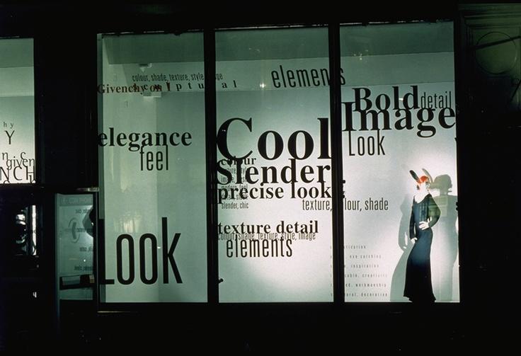 mactac films-adhesifs-communication-visuelle-MACal-8900-S-Givenchy' window display (Harvey Nichols - United Kingdom)002