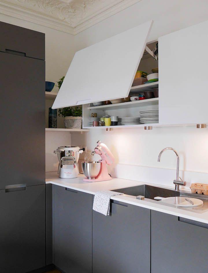 Cuisine Grise Et Blanche Visite Deco Cuisine Quirky Kitchen