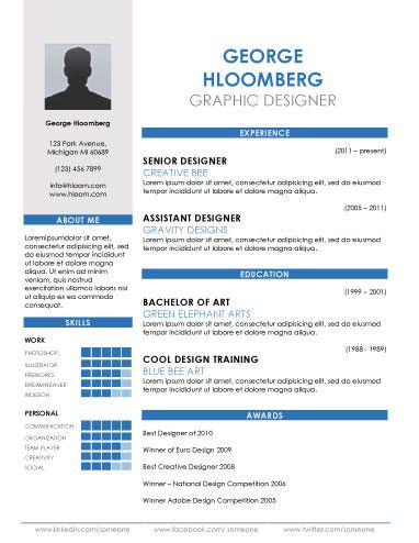 44 best Resumes images on Pinterest Professional resume template - template for resume in word