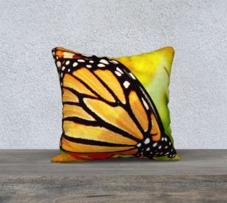Monarch Butterfly Pillow preview